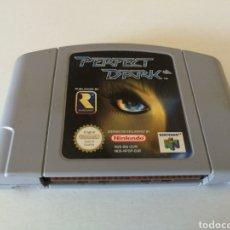 Videojuegos y Consolas: PERFECT DARK JUEGO NINTENDO 64. Lote 200061677