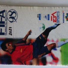 Videojuegos y Consolas: NINTENDO 64 MANUAL FIFA 98 VERSIÓN ESPAÑOLA ORIGINAL N64. Lote 201787048