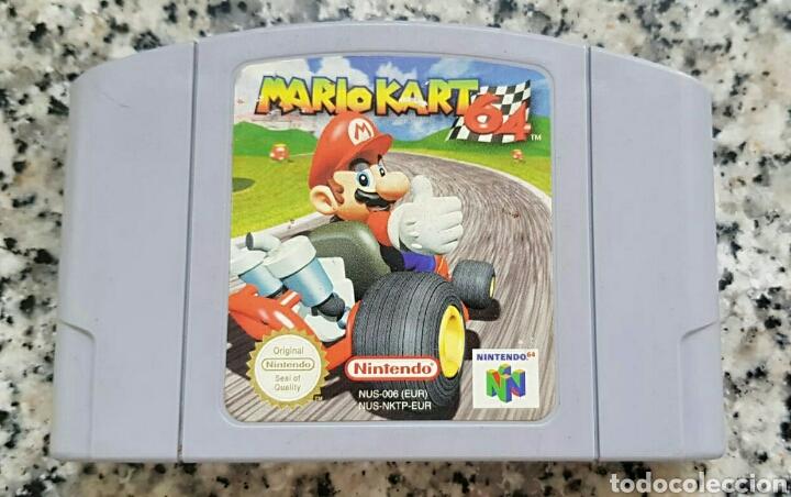 N64 NINTENDO 64 JUEGO MARIO KART (Juguetes - Videojuegos y Consolas - Nintendo - Nintendo 64)