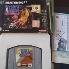 Videojuegos y Consolas: JUEGO COMPLETO NINTENDO 64 KOBE NBA REGISTRO NINTENDO COMPLETO. Lote 203271356