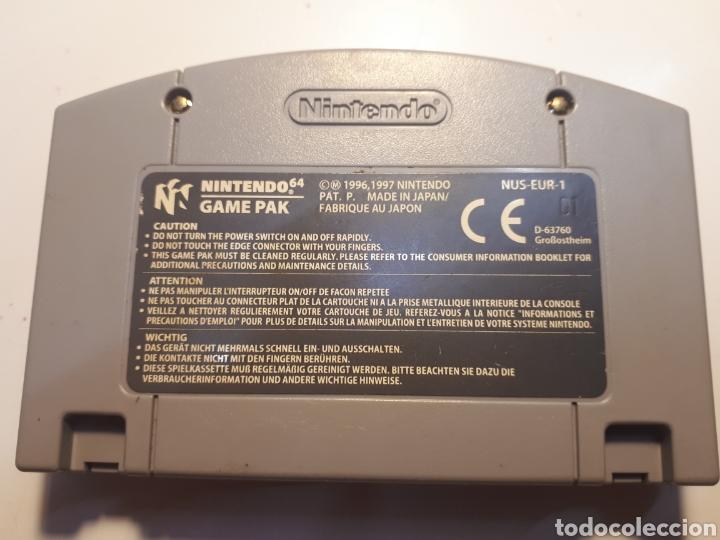 Videojuegos y Consolas: juego original de NINTENDO 64 Super Mario 64 - Foto 2 - 204105103