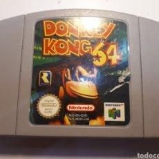 Videojuegos y Consolas: JUEGO ORIGINAL DE NINTENDO 64 DONKEY KONG 64. Lote 204105148