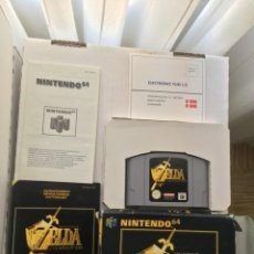 Videojuegos y Consolas: THE LEGEND OF ZELDA OCARINA OF TIME DESIGNED FOR RUMBLE PACK NINTENDO 64 N64 KREATEN. Lote 206308318