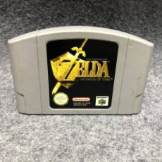 Videojuegos y Consolas: THE LEGEND OF ZELDA OCARINA OF TIME NINTENDO 64 N64. Lote 206345925