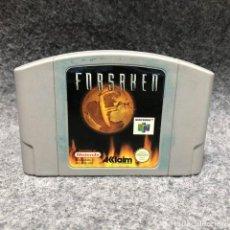 Videojuegos y Consolas: FORSAKEN NINTENDO 64 N64. Lote 206345932