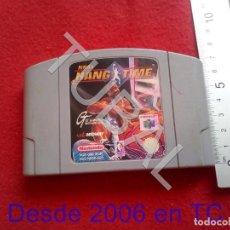 Videojuegos y Consolas: TUBAL NBA HANG TIME 64 NINTENDO FUNCIONANDO CJ4. Lote 206365662