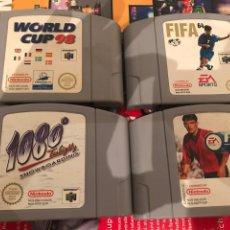 Videojuegos y Consolas: JUEGOS NINTENDO 64. Lote 206488132