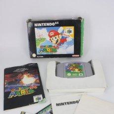 Videojuegos y Consolas: SUPER MARIO 64 COMPLETO PAL / CARTUCHO MANUAL POSTER CARTÓN ORIGINAL - NINTENDO 64 / N64,1996. Lote 207113966