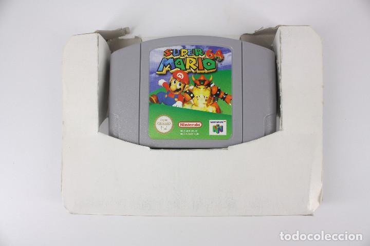 Videojuegos y Consolas: Super Mario 64 completo PAL / cartucho manual poster cartón original - Nintendo 64 / N64,1996 - Foto 2 - 207113966