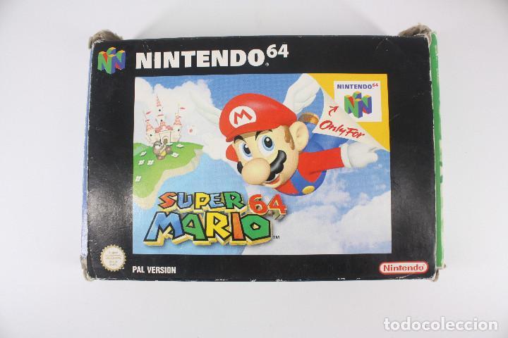 Videojuegos y Consolas: Super Mario 64 completo PAL / cartucho manual poster cartón original - Nintendo 64 / N64,1996 - Foto 4 - 207113966
