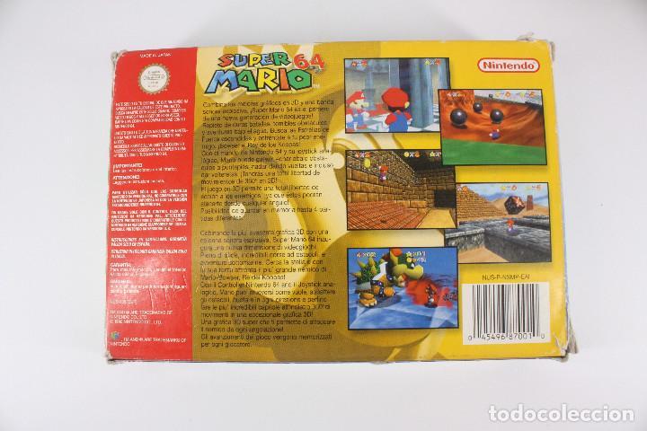 Videojuegos y Consolas: Super Mario 64 completo PAL / cartucho manual poster cartón original - Nintendo 64 / N64,1996 - Foto 5 - 207113966