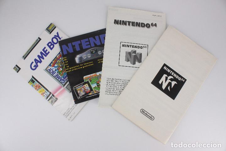 Videojuegos y Consolas: Super Mario 64 completo PAL / cartucho manual poster cartón original - Nintendo 64 / N64,1996 - Foto 13 - 207113966