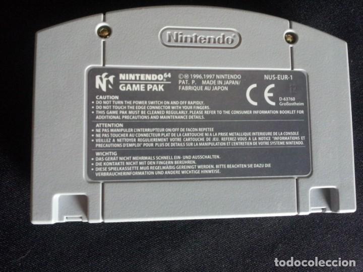 Videojuegos y Consolas: 9 JUEGOS DE NINTENDO 64 - NO SE VENDEN POR SEPARADO - Foto 5 - 144497122