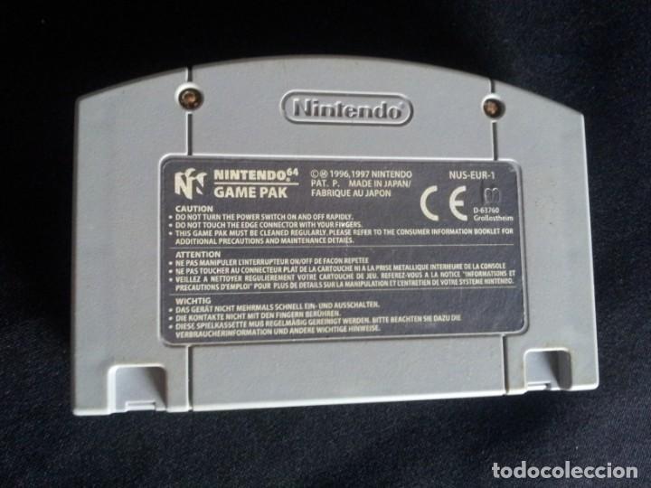 Videojuegos y Consolas: 9 JUEGOS DE NINTENDO 64 - NO SE VENDEN POR SEPARADO - Foto 15 - 144497122