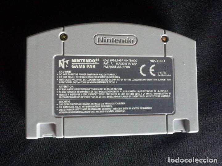 Videojuegos y Consolas: 9 JUEGOS DE NINTENDO 64 - NO SE VENDEN POR SEPARADO - Foto 19 - 144497122