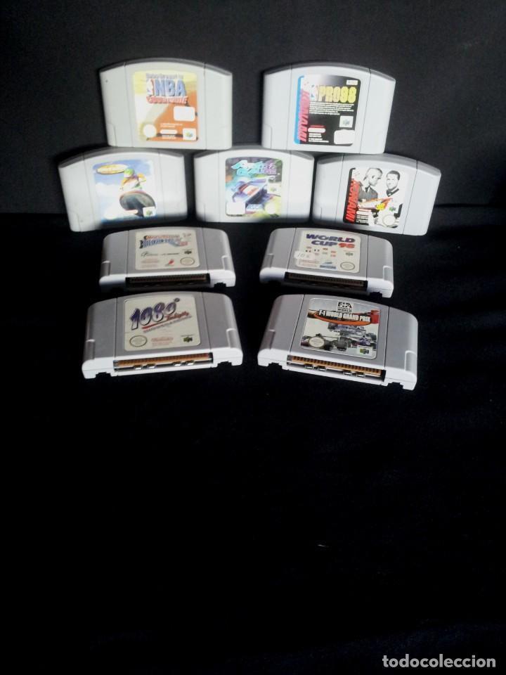 9 JUEGOS DE NINTENDO 64 - NO SE VENDEN POR SEPARADO (Juguetes - Videojuegos y Consolas - Nintendo - Nintendo 64)