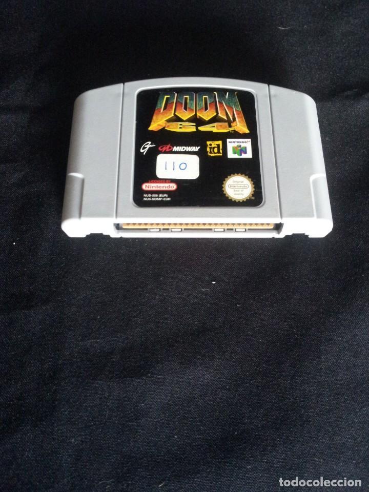 NINTENDO 64 - JUEGO, DOOM 64 - SOLO CARTUCHO (Juguetes - Videojuegos y Consolas - Nintendo - Nintendo 64)