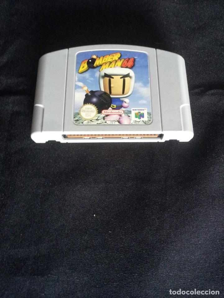 NINTENDO 64 - JUEGO, BOMBER MAN 64 - SOLO CARTUCHO (Juguetes - Videojuegos y Consolas - Nintendo - Nintendo 64)