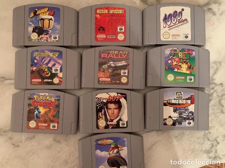 LOTE JUEGOS NINTENDO 64 (Juguetes - Videojuegos y Consolas - Nintendo - Nintendo 64)