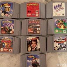 Videojuegos y Consolas: LOTE JUEGOS NINTENDO 64. Lote 209012157