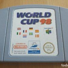 Videojuegos y Consolas: JUEGO DE CONSOLA , NINTENDO 65 , WORLD CUP 98. Lote 209885908