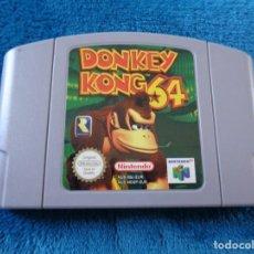 Videojuegos y Consolas: ANTIGUO JUEGO NINTENDO 64 - DONKEY KONG 64. Lote 210655425