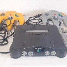Videojuegos y Consolas: NINTENDO 64 CON 2 MANDOS 3 JUEGOS BOMBE MAN , LYLATWARS, SUPER MARIO MEMORIA RAM Y CABLES. Lote 211262465