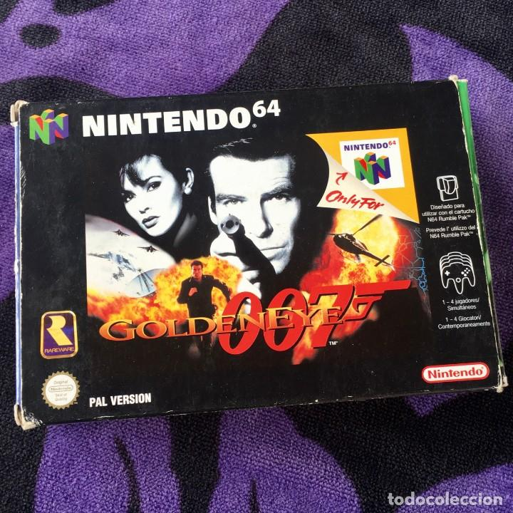 007 GOLDENEYE NINTENDO 64 N64 JUEGO COMPLETO + GUIA (Juguetes - Videojuegos y Consolas - Nintendo - Nintendo 64)