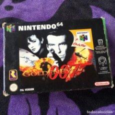 Videojuegos y Consolas: 007 GOLDENEYE NINTENDO 64 N64 JUEGO COMPLETO + GUIA. Lote 211633232