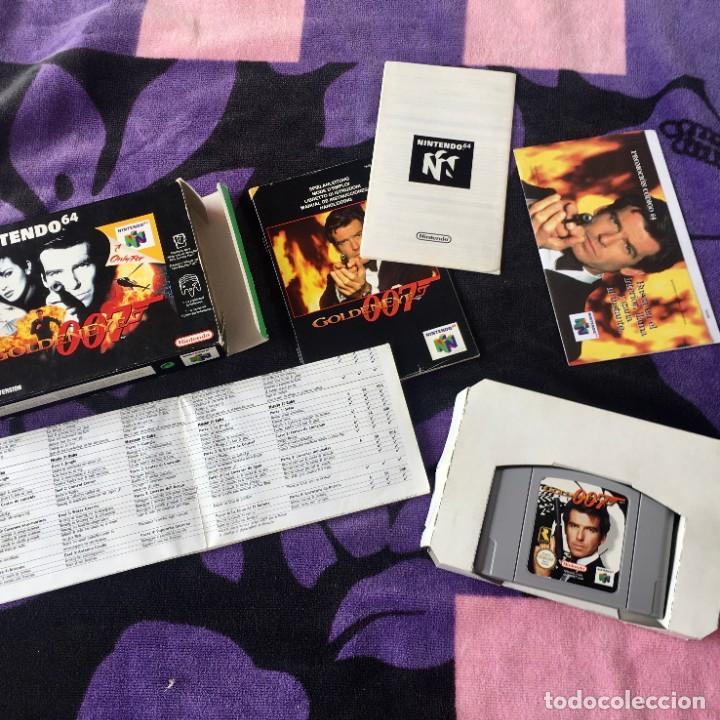 Videojuegos y Consolas: 007 GOLDENEYE NINTENDO 64 N64 JUEGO COMPLETO + GUIA - Foto 2 - 211633232
