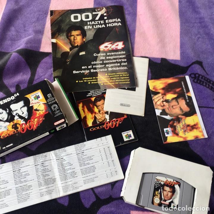 Videojuegos y Consolas: 007 GOLDENEYE NINTENDO 64 N64 JUEGO COMPLETO + GUIA - Foto 3 - 211633232