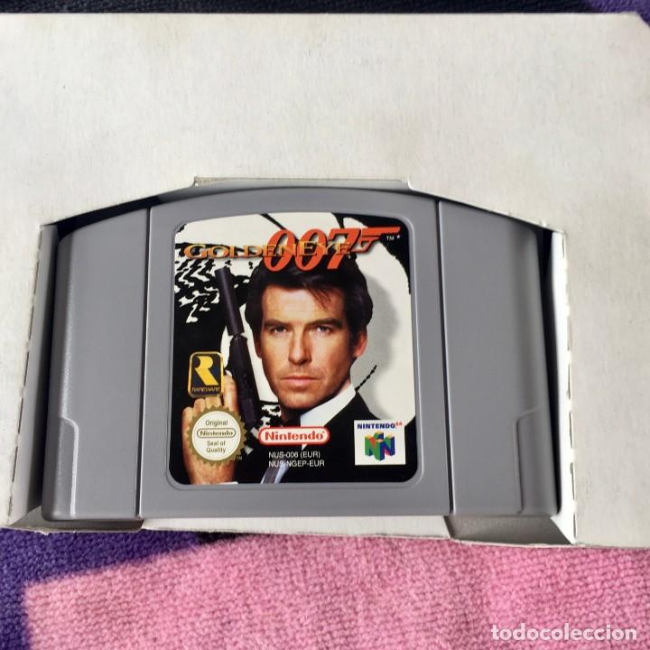 Videojuegos y Consolas: 007 GOLDENEYE NINTENDO 64 N64 JUEGO COMPLETO + GUIA - Foto 4 - 211633232