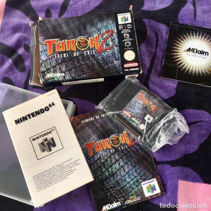 TUROK 2 NINTENDO 64 N64 NINTENDO64 JUEGO CON CAJA (Juguetes - Videojuegos y Consolas - Nintendo - Nintendo 64)