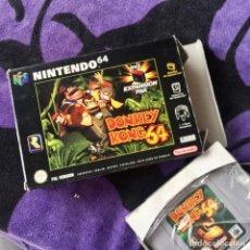 Videojuegos y Consolas: DONKEY KONG 64 NINTENDO 64 N64 NINTENDO64 JUEGO SIN TEARJETA DE EXPANSION. Lote 211633390