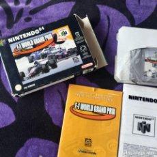 Videojuegos y Consolas: FORMULA 1 GRAND PRIX NINTENDO 64 N64 NINTENDO64. Lote 211633436
