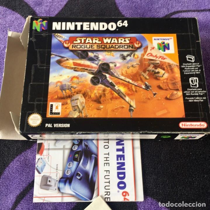 STAR WARS ROGUE SQUADRON NINTENDO 64 N64 NINTENDO64 JUEGO (Juguetes - Videojuegos y Consolas - Nintendo - Nintendo 64)
