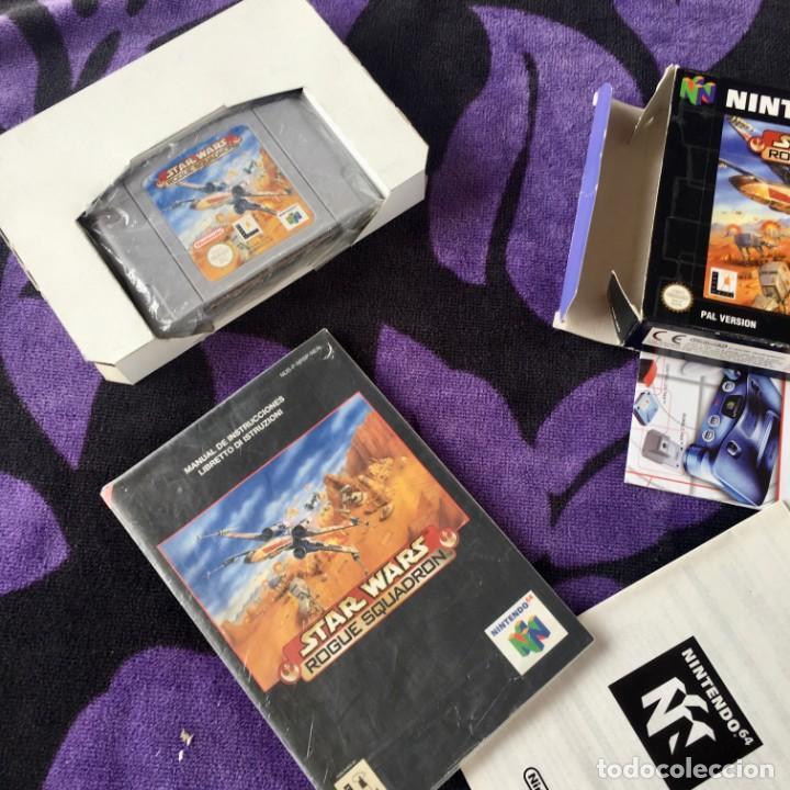 Videojuegos y Consolas: STAR WARS ROGUE SQUADRON NINTENDO 64 N64 NINTENDO64 JUEGO - Foto 2 - 211633470