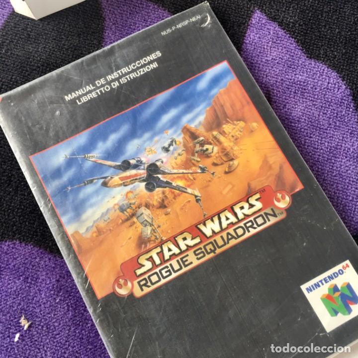 Videojuegos y Consolas: STAR WARS ROGUE SQUADRON NINTENDO 64 N64 NINTENDO64 JUEGO - Foto 3 - 211633470