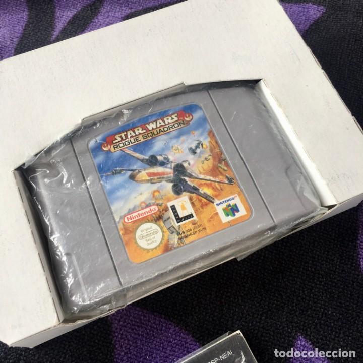 Videojuegos y Consolas: STAR WARS ROGUE SQUADRON NINTENDO 64 N64 NINTENDO64 JUEGO - Foto 4 - 211633470