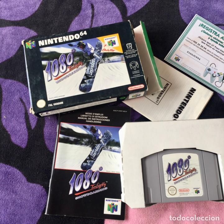1080 SNOWBOARDING NINTENDO64 N64 NINTENDO 64 (Juguetes - Videojuegos y Consolas - Nintendo - Nintendo 64)