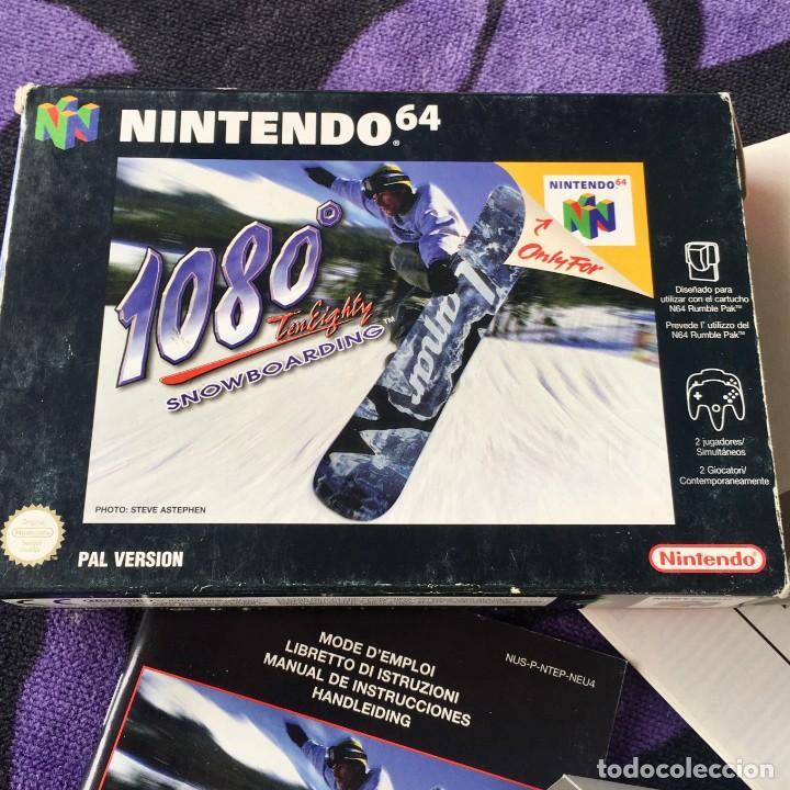 Videojuegos y Consolas: 1080 SNOWBOARDING NINTENDO64 N64 NINTENDO 64 - Foto 2 - 211633520