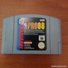 Videojuegos y Consolas: NBA PRO98 NINTENDO 64 CARTUCHO. Lote 211827368
