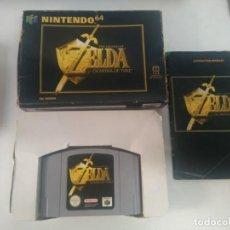 Videogiochi e Consoli: ZELDA OCARINE OF TIME N64 ENTRE Y MIRE MIS OTROS JUEGOS NINTENDO SEGA PS1 MEGADRIVE. Lote 212118978
