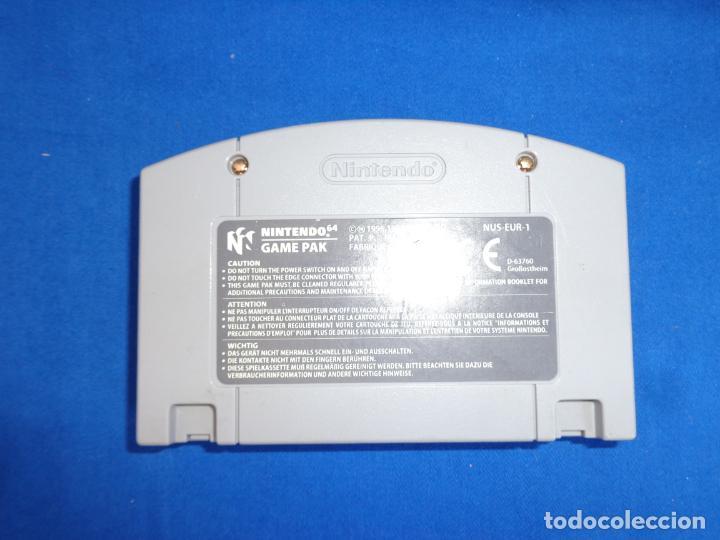 Videojuegos y Consolas: NINTENDO - SUPER MARIO 64 MADE IN JAPAN 1996/1997, NUS-EUR-1 VER FOTOS! SM - Foto 3 - 268300084
