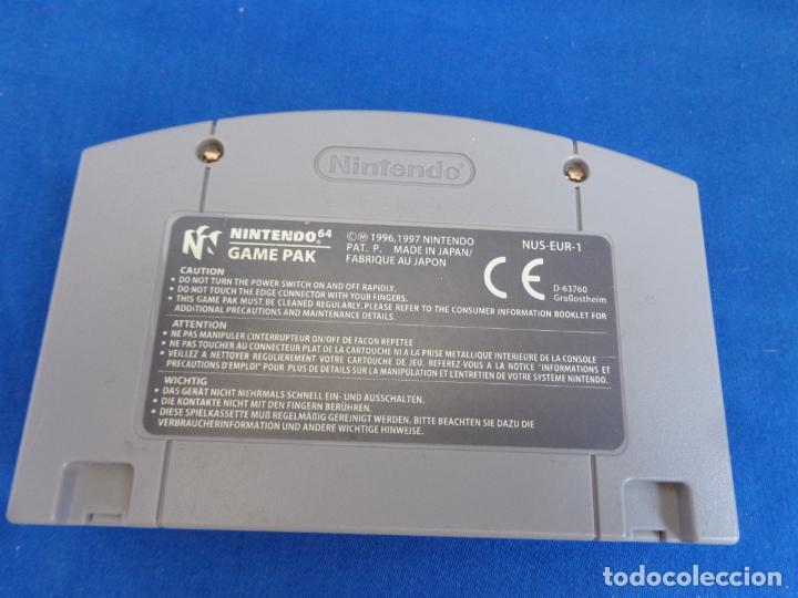 Videojuegos y Consolas: NINTENDO - SUPER MARIO 64 MADE IN JAPAN 1996/1997, NUS-EUR-1 VER FOTOS! SM - Foto 8 - 268300084