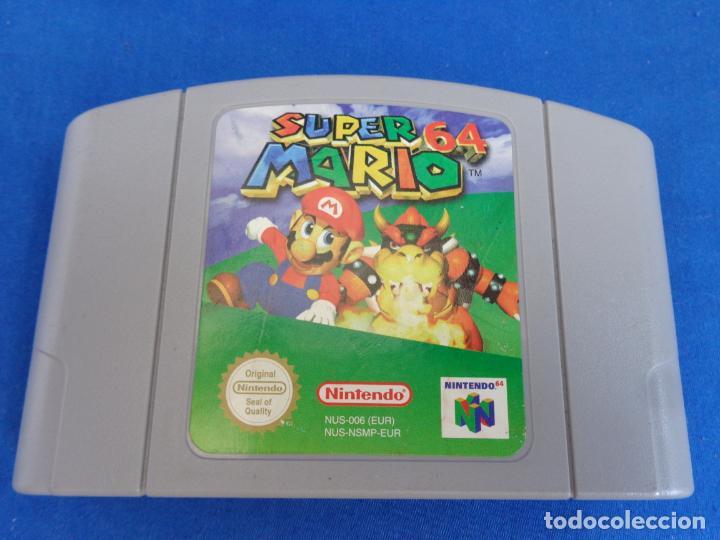 Videojuegos y Consolas: NINTENDO - SUPER MARIO 64 MADE IN JAPAN 1996/1997, NUS-EUR-1 VER FOTOS! SM - Foto 9 - 268300084