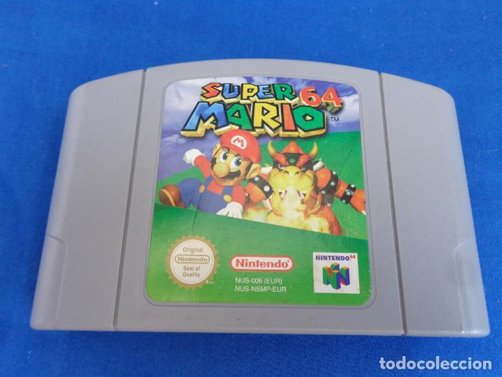NINTENDO - SUPER MARIO 64 MADE IN JAPAN 1996/1997, NUS-EUR-1 VER FOTOS! SM (Juguetes - Videojuegos y Consolas - Nintendo - Nintendo 64)