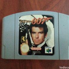 Videojuegos y Consolas: JUEGO NINTENDO 64,GOLDENEYE 007. Lote 212648535