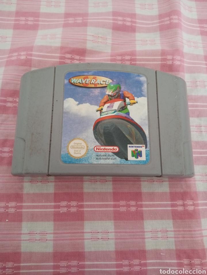 **JUEGO PARA LA SUPER NINTENDO, --- WAVERACH--- (1996/1997)** (Juguetes - Videojuegos y Consolas - Nintendo - Nintendo 64)