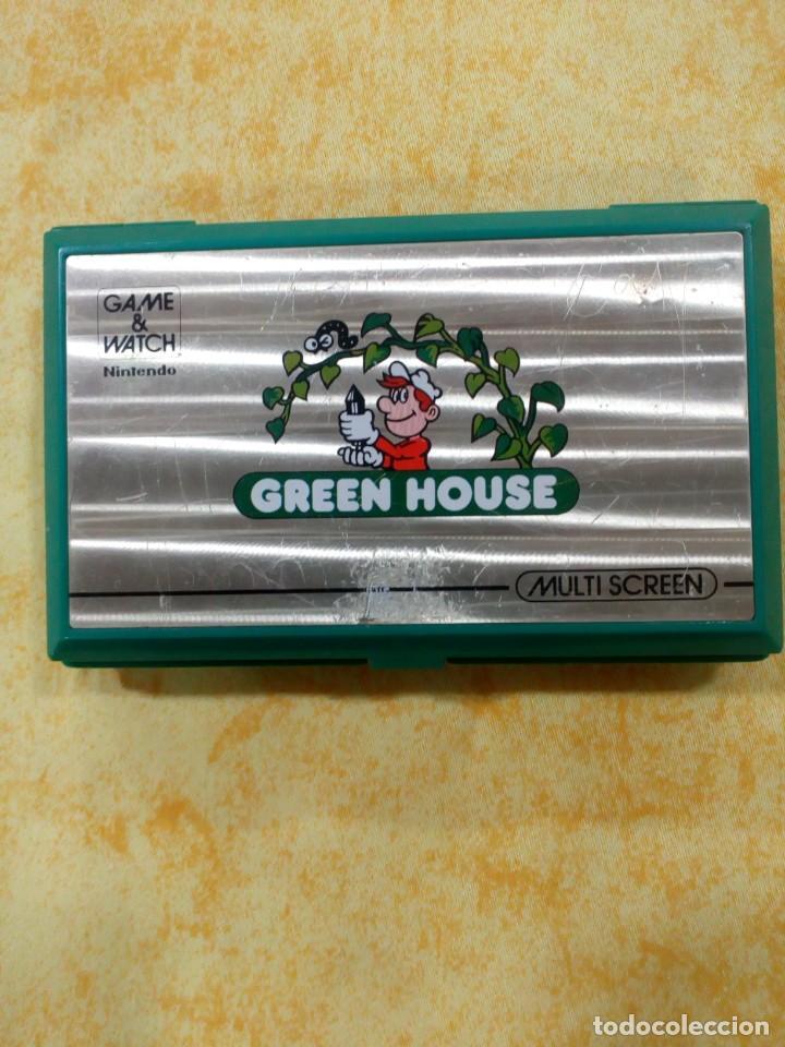 NINTENDO GAME WATCH GREEN HOUSE G H 54 (AÑO 1982 ) (Juguetes - Videojuegos y Consolas - Nintendo - Nintendo 64)